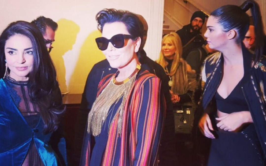 The Velvet jacket @ Paris Fashion week 2015