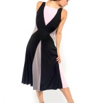 Argentine Tango dress, two slits at the front, comfortable and elegant