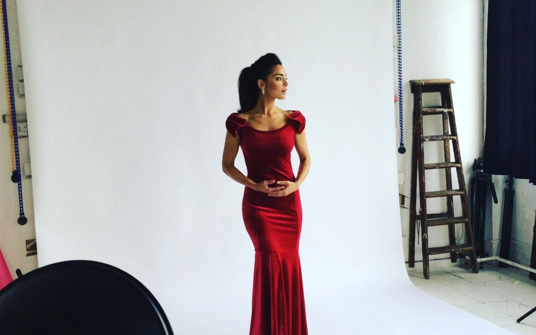 Shooting our Evening wear collection!