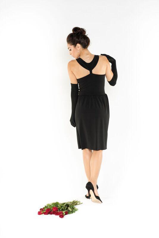 Made in Italy Breakfast at Tiffany's original knee length dress