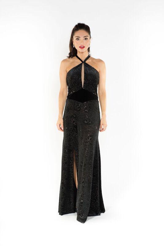 Juana tango Evening dress | The London Tango Boutique
