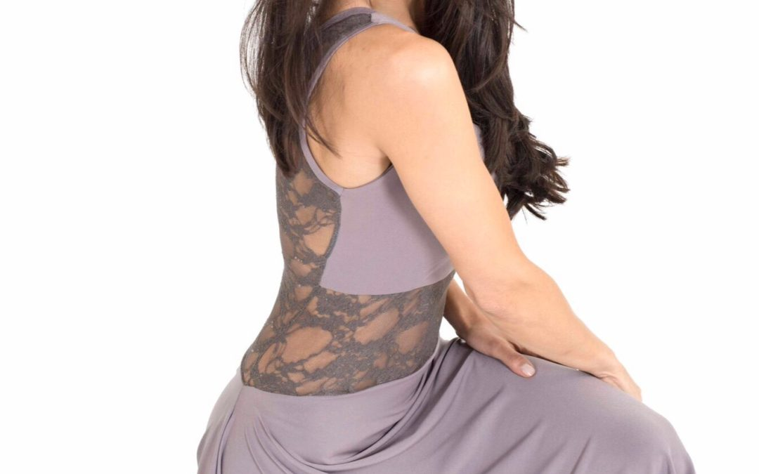 VIDEO: the one shoulder tango dress in action