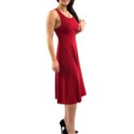 Red Tango Dress imperial waistline