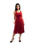 Red Argentine Tango Dress for large women