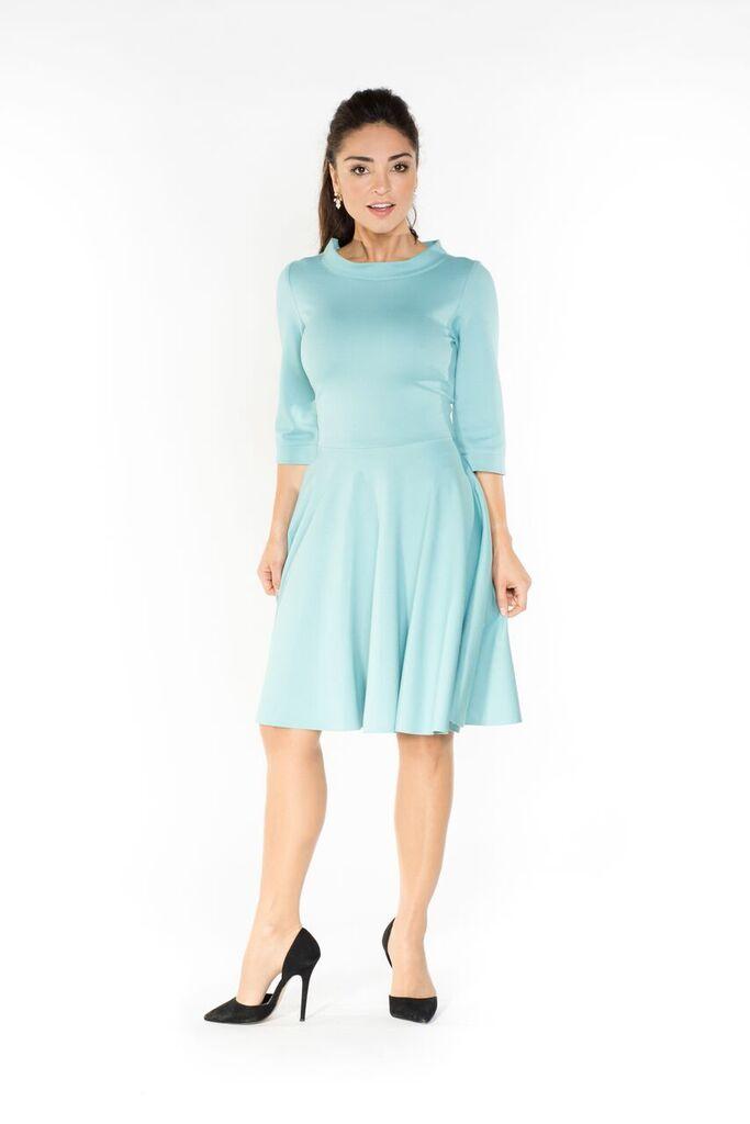 The light blue dress retro style