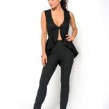 The tango jacket black sleeveless