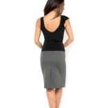 pencil tango skirt with two slits