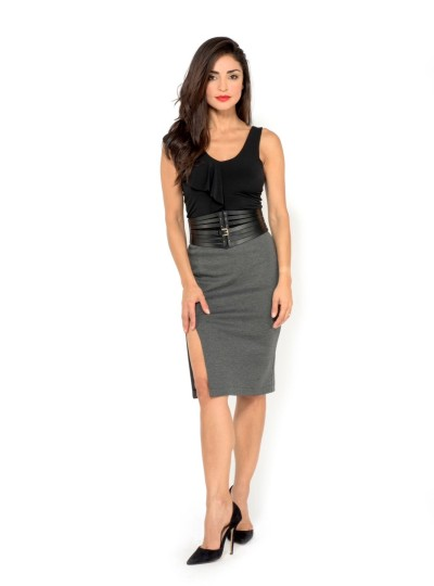 tango skirt with two slits