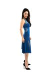 Best Argentine Tango dress blue