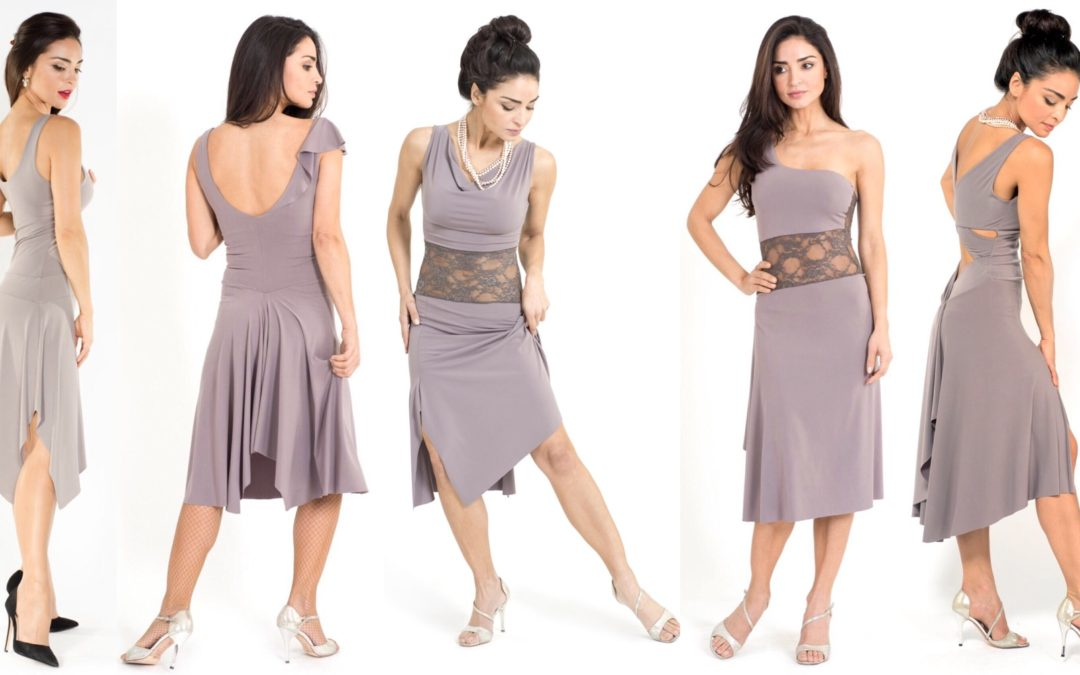 Tango Dresses in light Grey