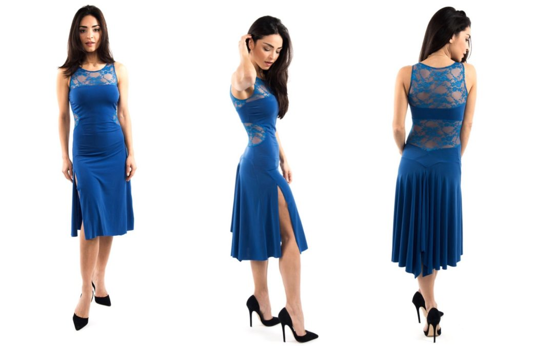 Limited edition:  Electric blue Cremona dress