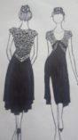 Beautiful tango dress black lace