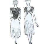 Exquisite tango dress