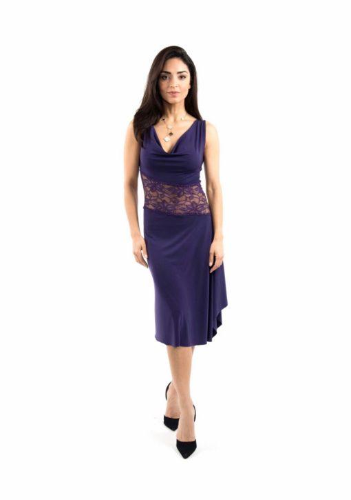 Diagonal tango dress