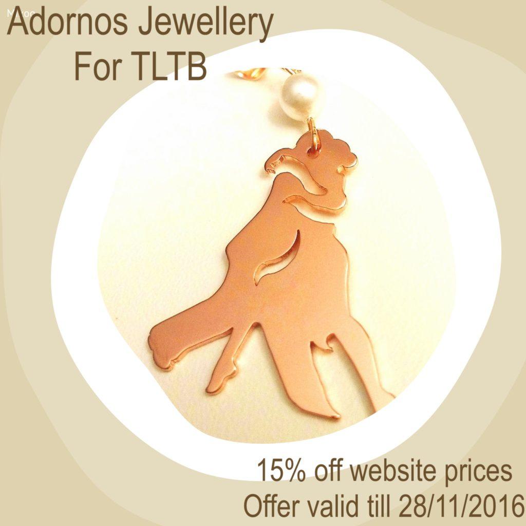 Adornos jewellery for The London Tango Boutique