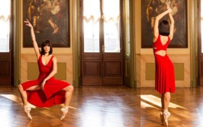 RED ARGENTINE TANGO DRESS