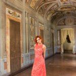 Cotton lace summer tango dress tango clothing