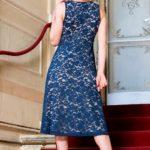 Plus women cotton lace summer and tango dress custom made XL L