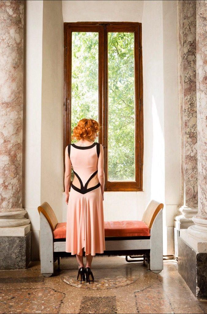 Slimming waist tango dress summer parties