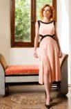 Light pink summer dress argentine tango