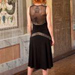 Argentine tango dress, sexy tango dress, twenties evening dress