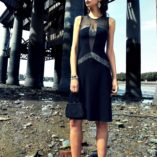 Twenties style dress - evening dress and tango dress