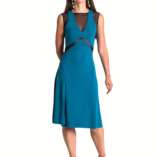Exquisite tango dress that slims the waist cuts outs in tulle