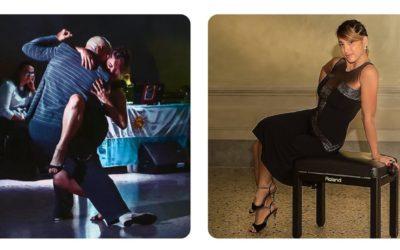 Alejandra Mantinan wearing TLTB's Twenties Tango dress