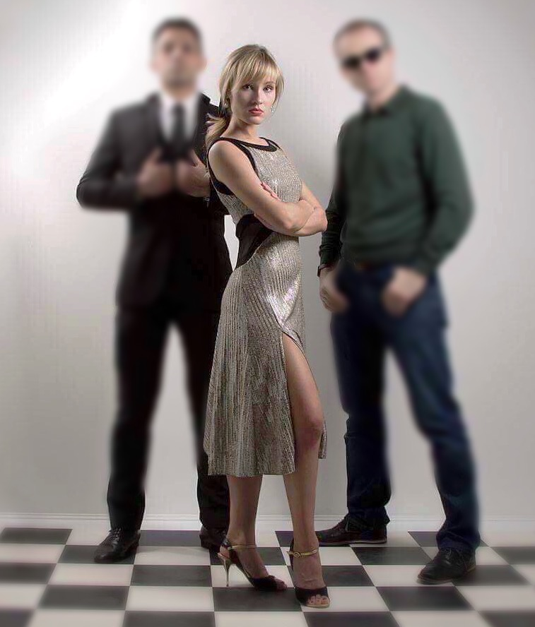 silver argentine tango dress plus sizes slimming effect