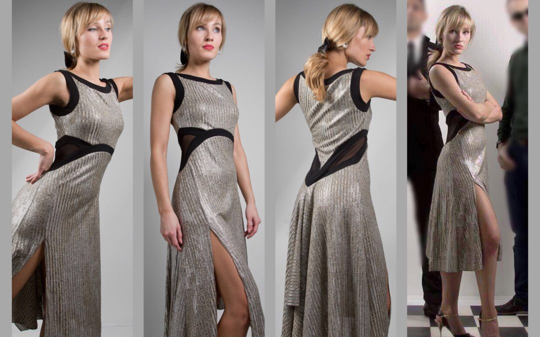 Limited Edition: Capri dress in SILVER!