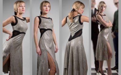 Limited Edition: Capri dress in SILVER!