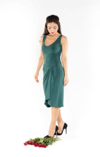 Portfolio Green tango dress