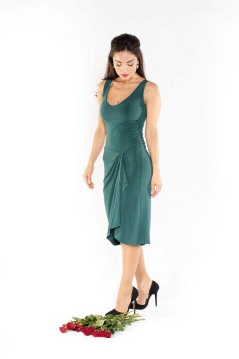 Portfolio Green tango dress
