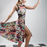 Capri tango dress in 100% natural viscose buy online us United States