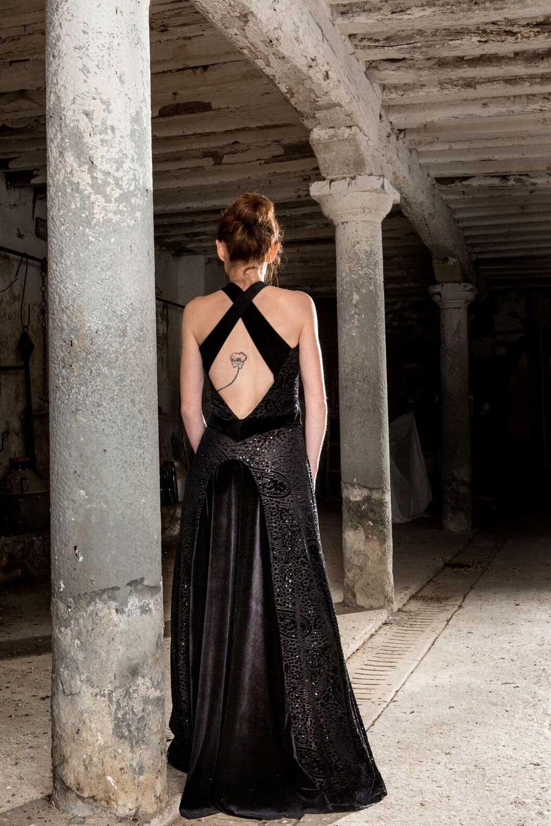 A juana evening gown