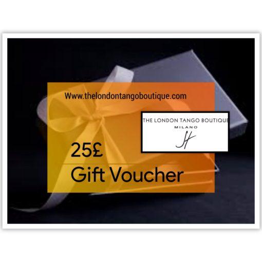 25% tango clothing gift voucher
