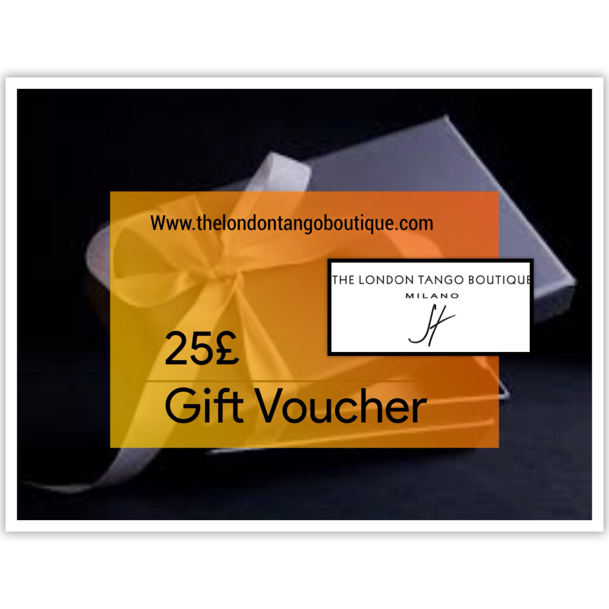 25% tango clothing gift voucher