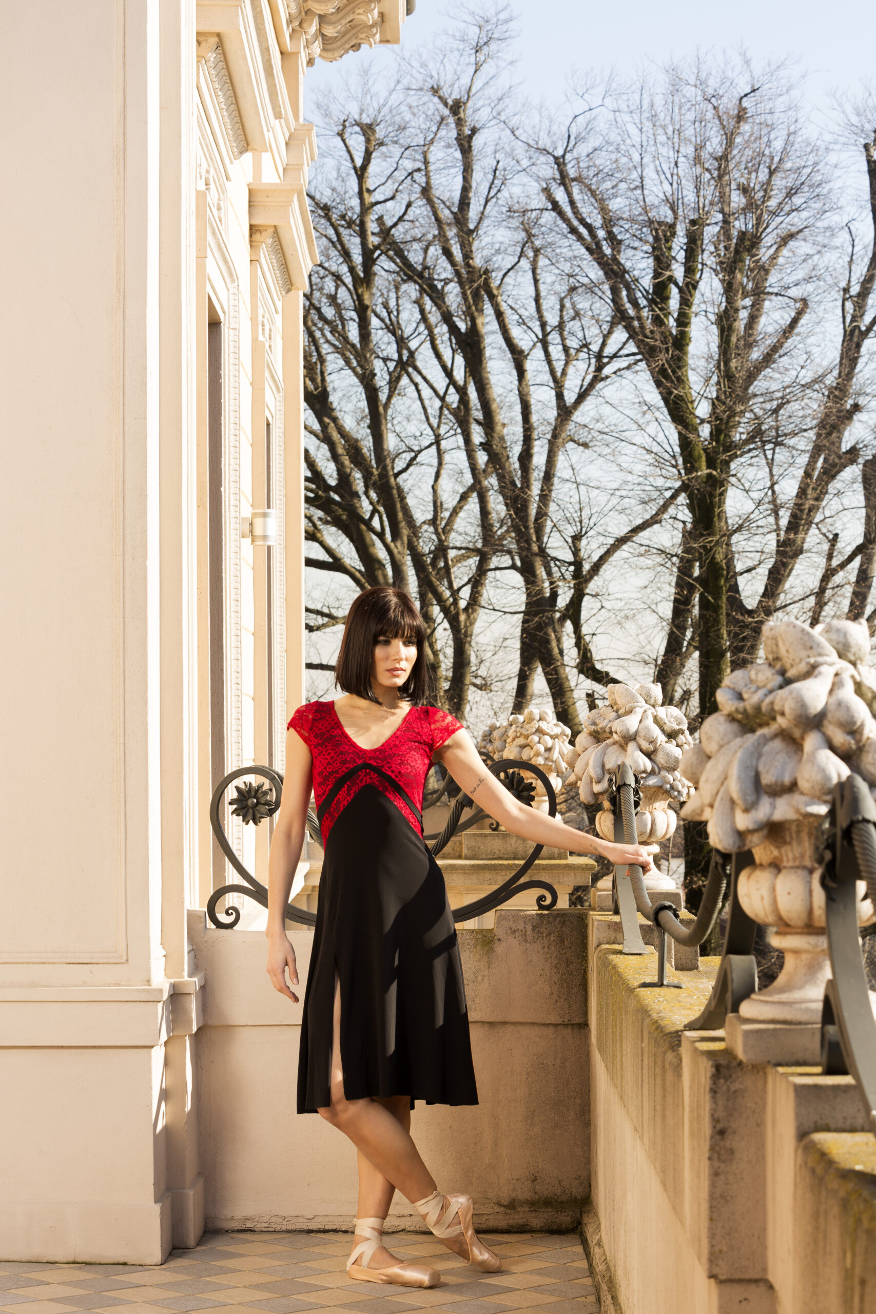 A V Argentine Tango dress