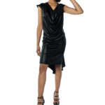 Draped tango dress XL