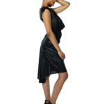 Metallic argentine tango dress