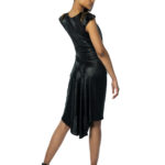 black argentine tango dress for large ladies