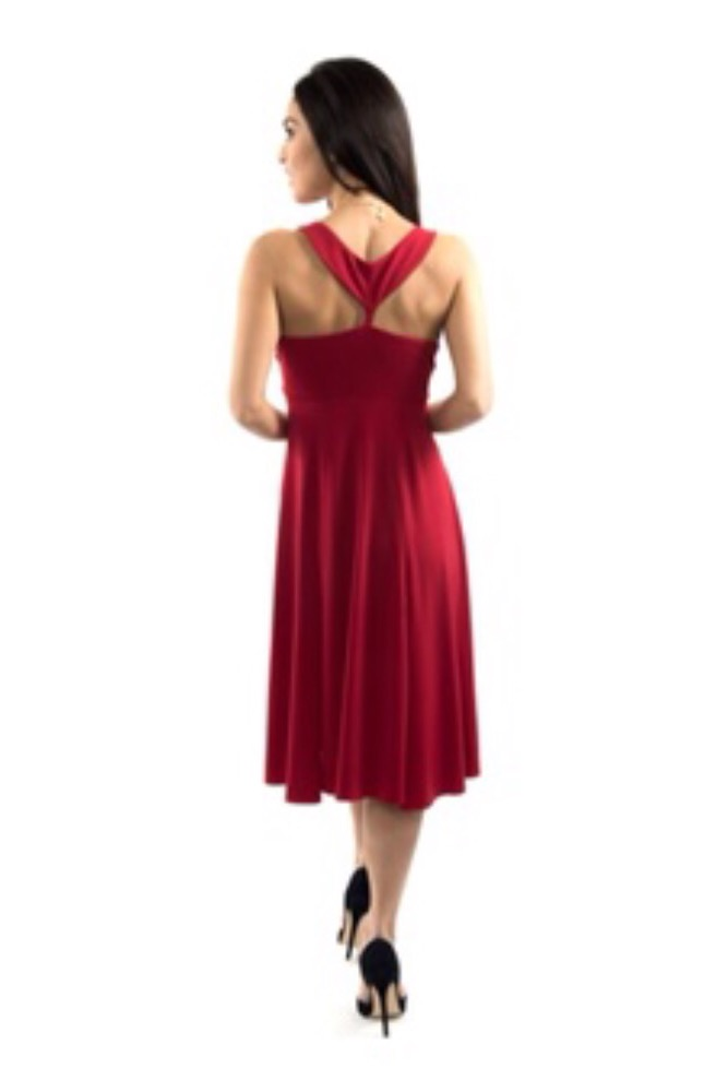 Breakfast Tiffany's red dress