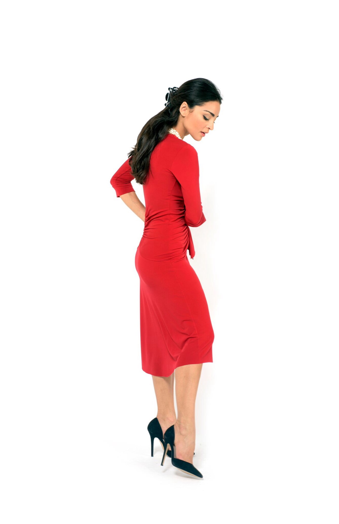 6fb0c5d704e0c The Bow Tango Dress - The London Tango Boutique office dress sleeves