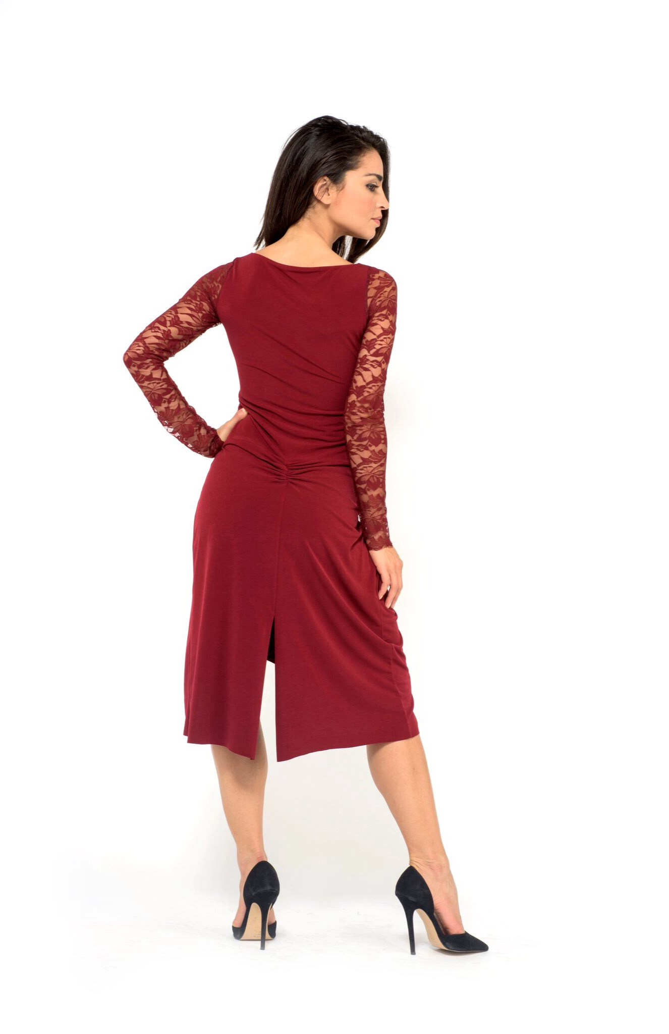 c3ede8cd0428f The Federica Dress - The London Tango Boutique tango dress sleeves