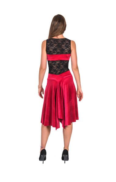 Red Tango Dress velvet