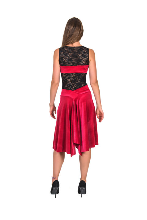 Red Tango Dress velvet