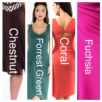 Custom colours Tango dresses