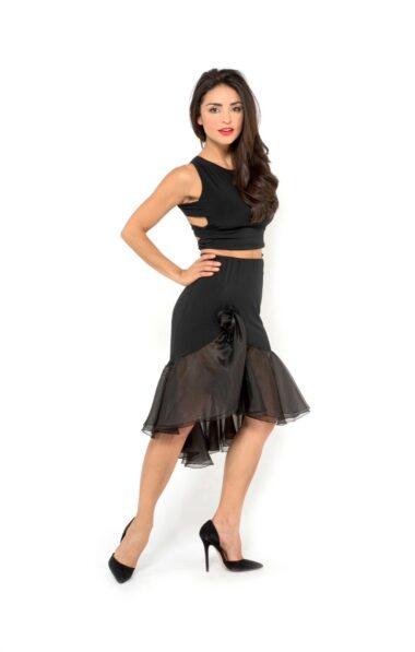 Black tango skirt