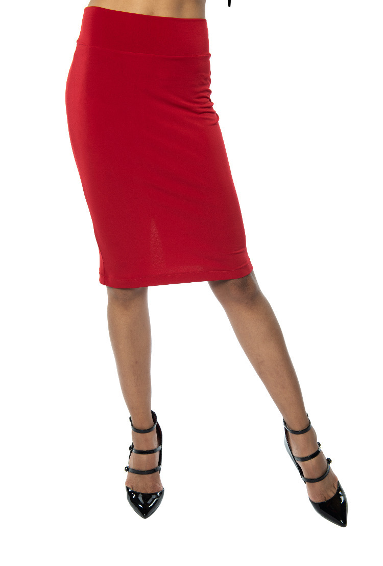 Red Argentine Tango skirt