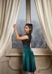 V tango Dress